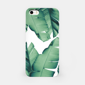Thumbnail image of Banana Leaves Tropical Vibes #4 #foliage #decor #art iPhone-Hülle, Live Heroes