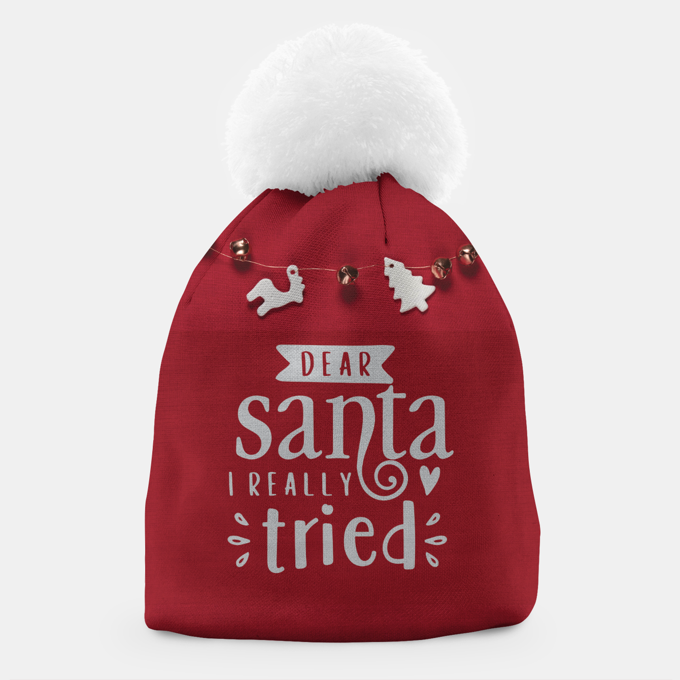 Image de Dear santa I really tried Czapka - Live Heroes