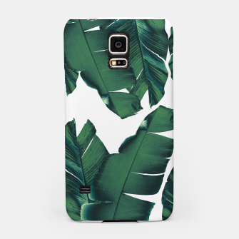 Thumbnail image of Banana Leaves Tropical Vibes #5 #foliage #decor #art Handyhülle für Samsung, Live Heroes