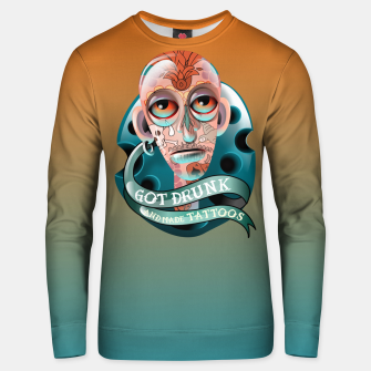 Miniatur Got drunk and made Tattoos Unisex sweater, Live Heroes