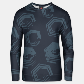 Thumbnail image of Open Polygons of Steel Unisex sweater, Live Heroes