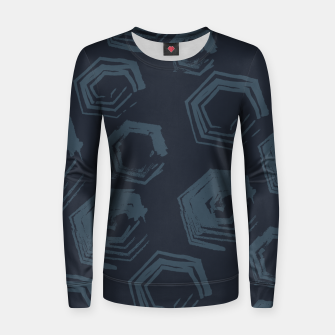 Thumbnail image of Open Polygons of Steel Women sweater, Live Heroes