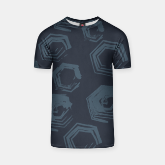 Thumbnail image of Open Polygons of Steel T-shirt, Live Heroes