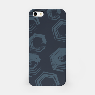 Thumbnail image of Open Polygons of Steel iPhone Case, Live Heroes