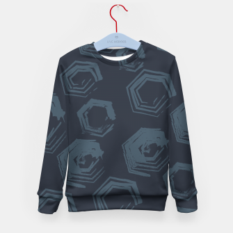 Thumbnail image of Open Polygons of Steel Kid's sweater, Live Heroes