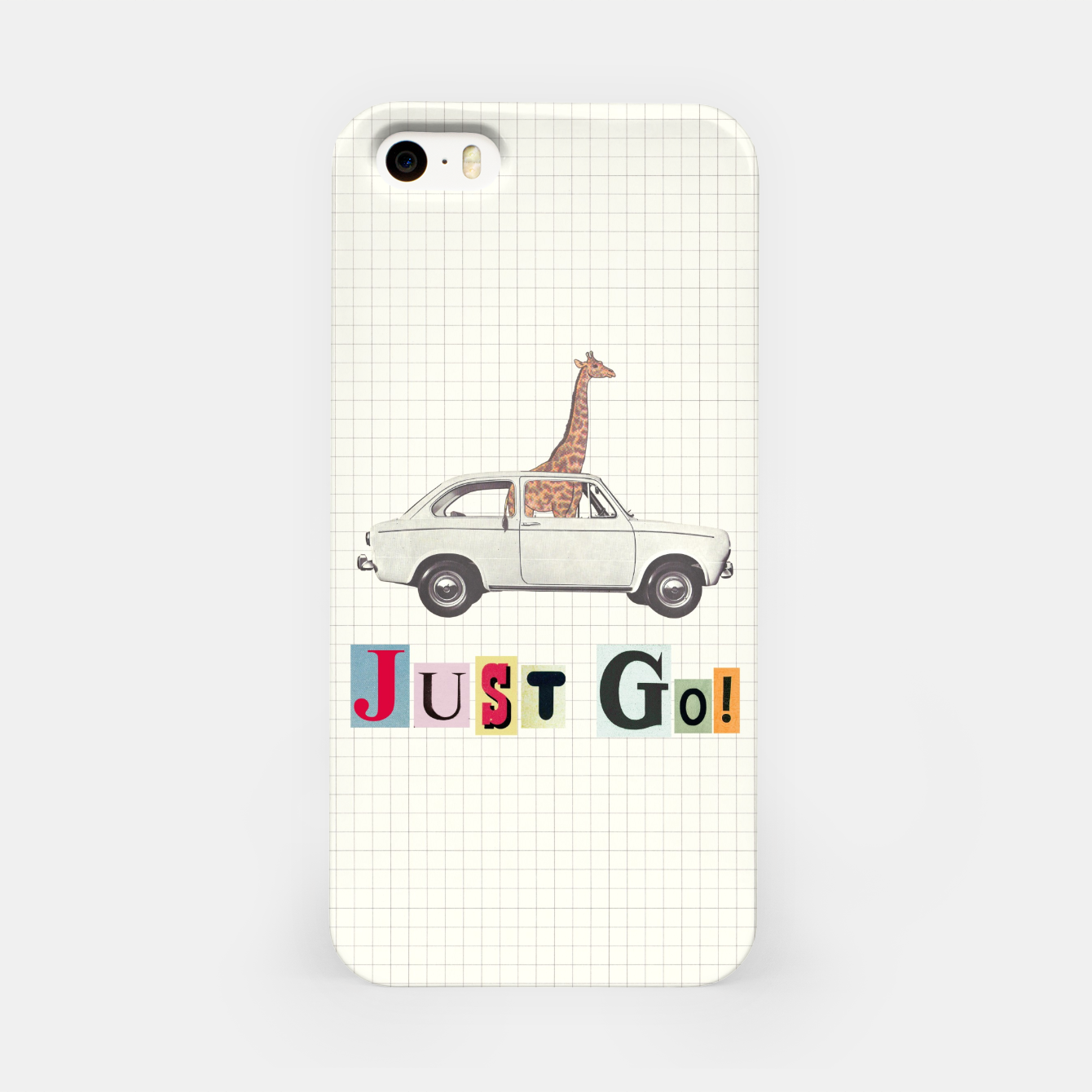 Foto JUST GO! iPhone Case - Live Heroes