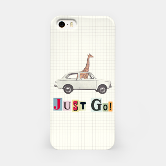 Miniatur JUST GO! iPhone Case, Live Heroes