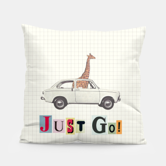 Thumbnail image of JUST GO! Pillow, Live Heroes