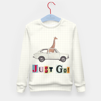 Thumbnail image of JUST GO! Kid's sweater, Live Heroes