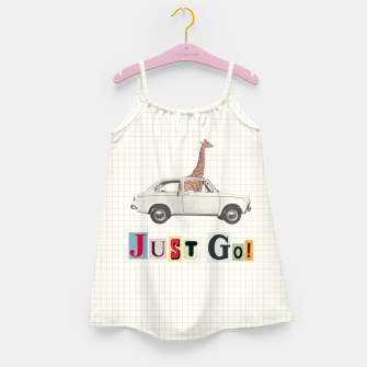 Miniatur JUST GO! Girl's dress, Live Heroes