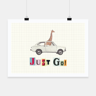 Thumbnail image of JUST GO! Poster, Live Heroes