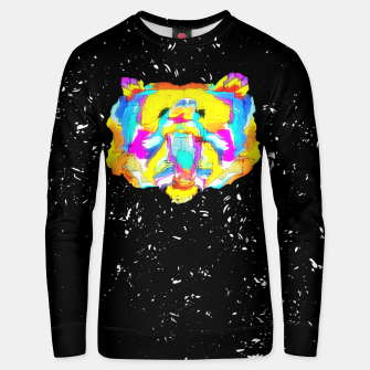 Miniatur PSYCHEDELIC BEAR Unisex sweater, Live Heroes
