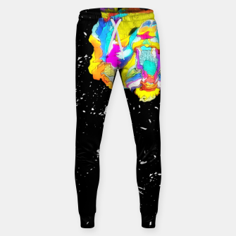 Thumbnail image of PSYCHEDELIC BEAR Sweatpants, Live Heroes