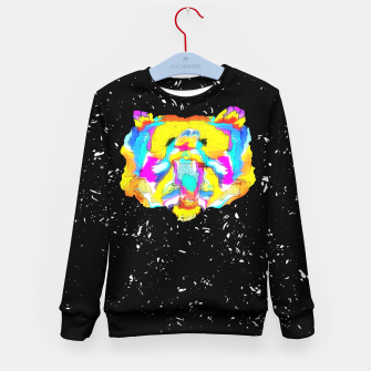 Thumbnail image of PSYCHEDELIC BEAR Kid's sweater, Live Heroes