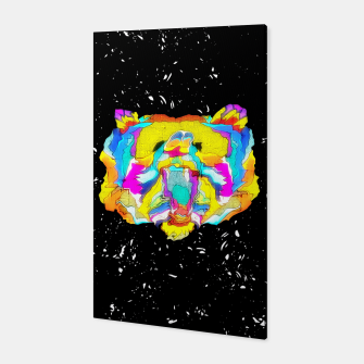 Miniaturka PSYCHEDELIC BEAR Canvas, Live Heroes