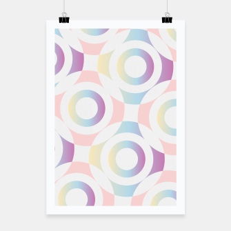 Thumbnail image of Concentric circular rings Poster, Live Heroes