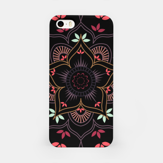Thumbnail image of Decorative floral mandala with leaves and petals iPhone Case, Live Heroes