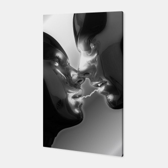 Thumbnail image of Electric Lovers (Black and White) Canvas, Live Heroes