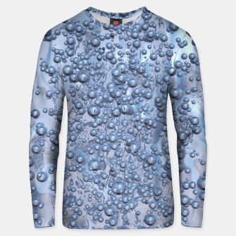 Thumbnail image of Chrome Bubbles Pattern Unisex sweatshirt, Live Heroes