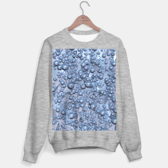 Thumbnail image of Chrome Bubbles Pattern Sweatshirt regulär, Live Heroes