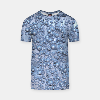 Thumbnail image of Chrome Bubbles Pattern T-Shirt, Live Heroes