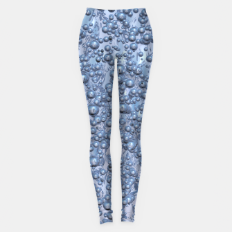 Thumbnail image of Chrome Bubbles Pattern Leggings, Live Heroes