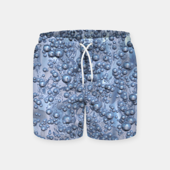 Thumbnail image of Chrome Bubbles Pattern Badeshorts, Live Heroes