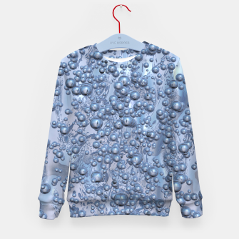 Thumbnail image of Chrome Bubbles Pattern Kindersweatshirt, Live Heroes