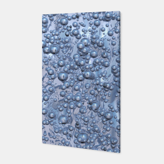 Thumbnail image of Chrome Bubbles Pattern Canvas, Live Heroes