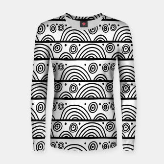 Thumbnail image of African Native Tribe - Pattern 08 - big Women sweater, Live Heroes