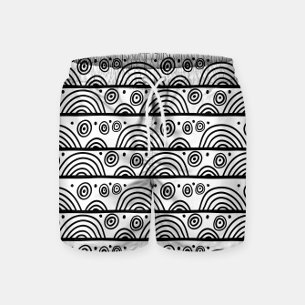 Thumbnail image of African Native Tribe - Pattern 08 - big Swim Shorts, Live Heroes