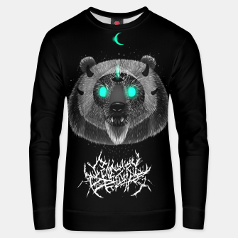 Thumbnail image of Cemetery Bear Unisex sweater, Live Heroes