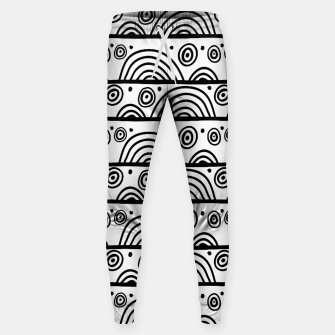 Thumbnail image of African Native Tribe - Pattern 08 - big Sweatpants, Live Heroes