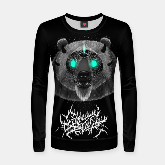 Thumbnail image of Cemetery Bear Women sweater, Live Heroes