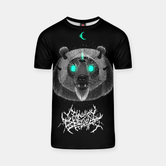 Thumbnail image of Cemetery Bear T-shirt, Live Heroes
