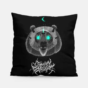 Thumbnail image of Cemetery Bear Pillow, Live Heroes