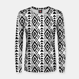 Thumbnail image of African Native Tribe - Pattern 09 - small Women sweater, Live Heroes