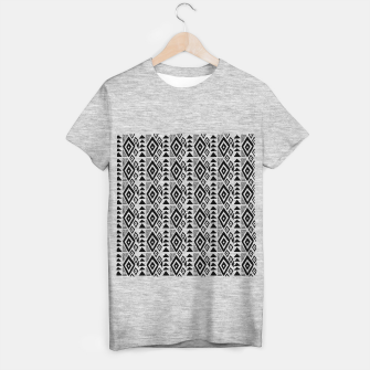 Thumbnail image of African Native Tribe - Pattern 09 - small T-shirt regular, Live Heroes
