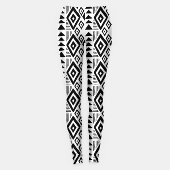 Thumbnail image of African Native Tribe - Pattern 09 - small Leggings, Live Heroes