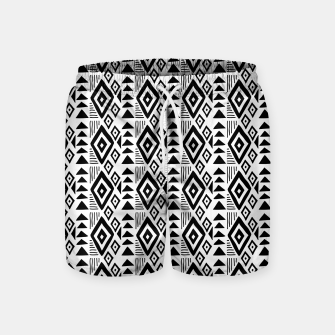 Thumbnail image of African Native Tribe - Pattern 09 - small Swim Shorts, Live Heroes