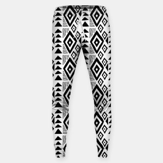 Thumbnail image of African Native Tribe - Pattern 09 - small Sweatpants, Live Heroes