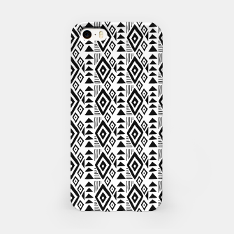 Thumbnail image of African Native Tribe - Pattern 09 - small iPhone Case, Live Heroes