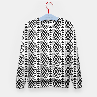 Thumbnail image of African Native Tribe - Pattern 09 - small Kid's sweater, Live Heroes
