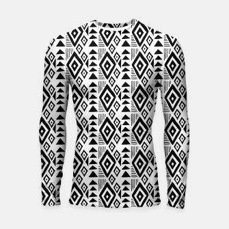 Thumbnail image of African Native Tribe - Pattern 09 - small Longsleeve rashguard , Live Heroes
