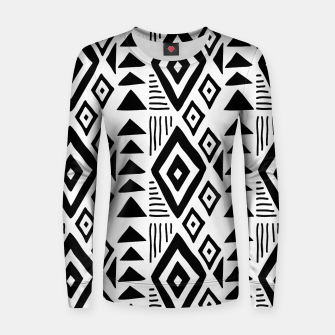Thumbnail image of African Native Tribe - Pattern 09 - big Women sweater, Live Heroes