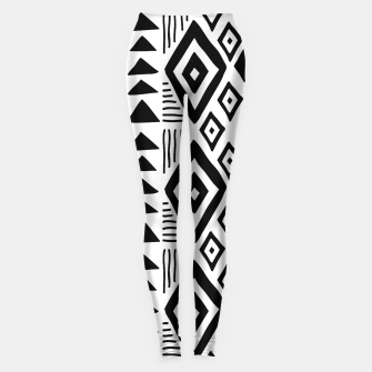 Thumbnail image of African Native Tribe - Pattern 09 - big Leggings, Live Heroes