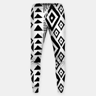 Thumbnail image of African Native Tribe - Pattern 09 - big Sweatpants, Live Heroes
