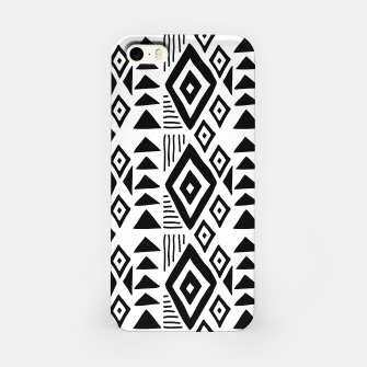 Thumbnail image of African Native Tribe - Pattern 09 - big iPhone Case, Live Heroes