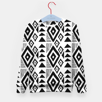 Thumbnail image of African Native Tribe - Pattern 09 - big Kid's sweater, Live Heroes