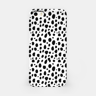 Thumbnail image of African Native Tribe - Pattern 10 - positive iPhone Case, Live Heroes